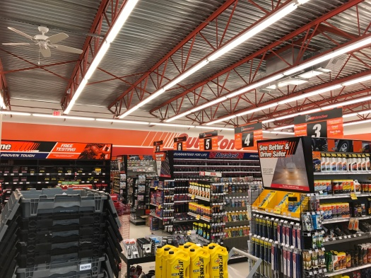 Interior of Autozone Dubuque