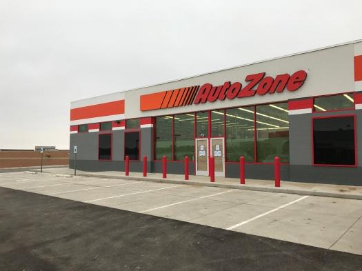 Autozone Facade, Dubuque, IA