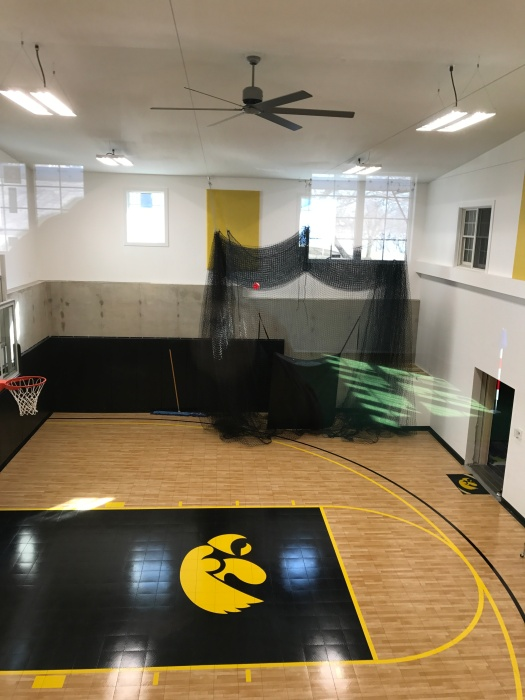 Iowa Hawkeyes Basketball Court